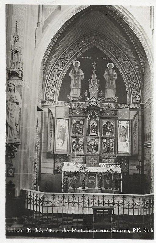 rkkerk interieur altaar elshout ca1940
