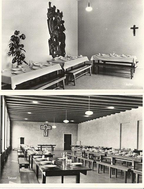 Abdij marienkroon 1960 interieur heusden vroeger oude for Interieur 1960