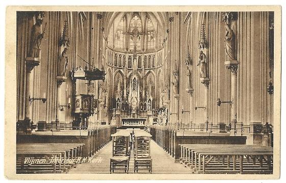 R k kerk interieur julianastraat vlijmen 1930 heusden for Interieur 1930
